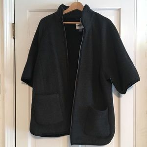 Maternity Cape-Style Jacket